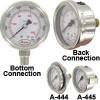 工业级不锈钢压力表
