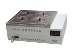 HH-S4双列四孔恒温水浴锅