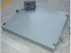 """上海双层地磅秤优势""""3T电子泵秤汽车过磅"""""""