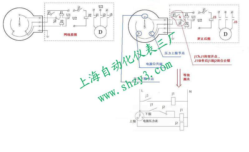 磁助式电接点压力表工作原理