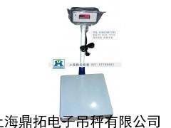 进口电子台秤/600公斤带轮子电子称/600公斤台称