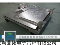 1吨地磅/移动式电子磅报价/湛江电子小地磅