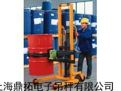 揭阳300KG电子倒桶秤/300公斤抱夹式油桶秤