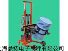 100KG称圆桶的倒桶秤(化工厂)油桶搬运车电子秤