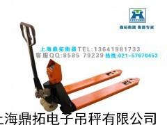 乌鲁木电子称厂家/2T搬运车电子叉车秤(带打印)