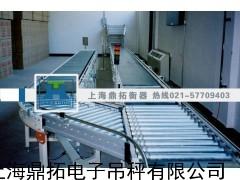 定量检重轨道电子称,600公斤带打印辊筒电子秤