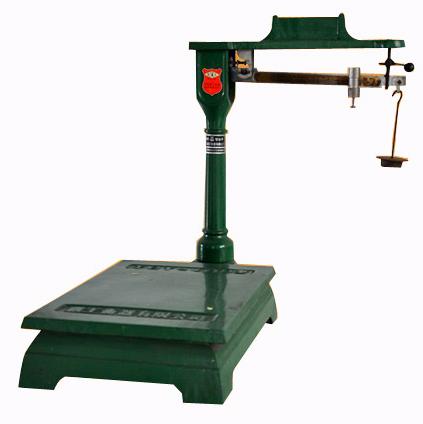 机械磅秤结构简单,计量较准确