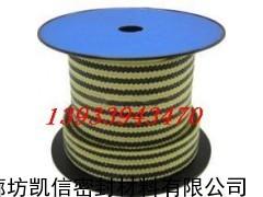芳纶角线黑四氟盘根环,芳纶四氟盘根密封盘根