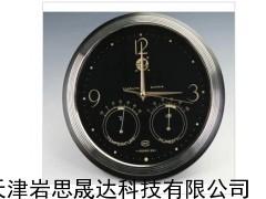 气象仪器厂WHSM1型时钟(黑/白)毛发温度湿度计