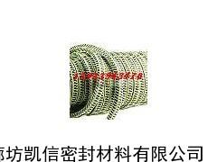 硅胶芯白芳纶盘根,芳纶硅胶心盘根,芳纶纤维盘根