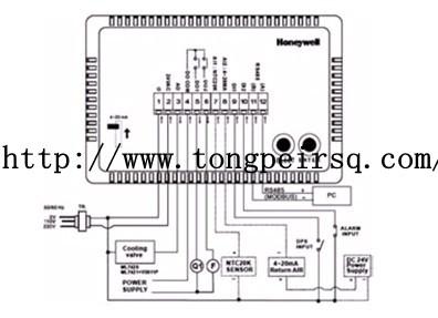 霍尼韦尔控制器的组成及各个端子的作用