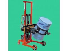 芜湖油桶车电子秤…300公斤手动液压堆高升降车秤