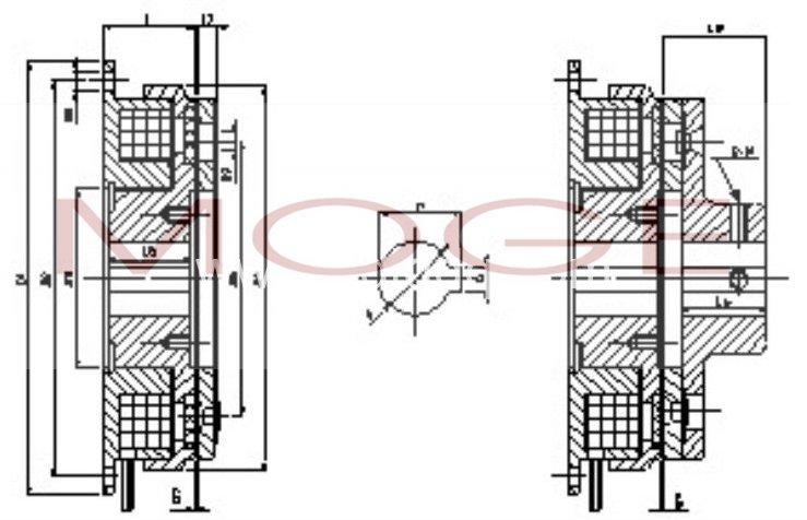 lddl2-05,lddl2-10,电磁离合器