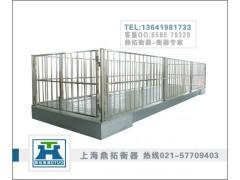 牛羊电子磅秤/SCS-3T动物电子称/带围栏的动物秤