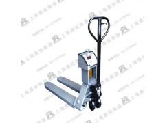 1T叉车秤/托盘式叉车磅/带电子秤手动叉车