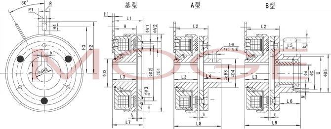 dld6-20,dld6-40,电磁离合器