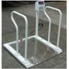 出口到沙特300公斤不锈钢轮椅秤,出口贸易轮椅秤