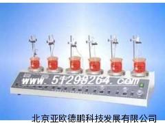 数显六连磁力搅拌器(无加热型) 六连磁力搅拌器