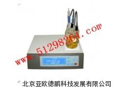石油产品微量水分测定仪/微量水分测定仪/水分测定器