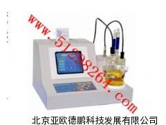 石油产品全自动微量水分测定仪