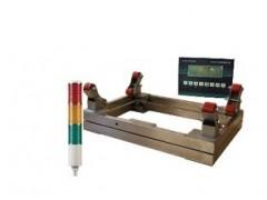 缓冲电子泵秤—3吨双层抗冲击氯瓶秤—加氯气瓶电子磅秤