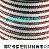 金芳纶角线白四氟盘根,红芳纶白四氟盘根