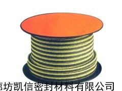 四角芳纶割裂丝盘根 芳纶四氟丝盘根 芳纶角线白四氟盘根
