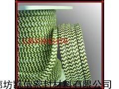 芳纶碳素混编盘根|芳纶黑四氟交织盘根