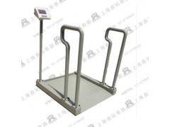 200公斤带扶手电子轮椅秤//疗养院用300KG轮椅电子磅