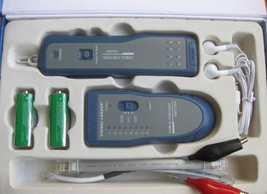 网线电话线测试仪 寻线器/查线器
