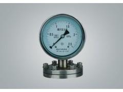 YP-150L膜片压力表,YP-150L耐腐膜片压力表