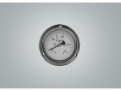 Y-60轴向压力表,不锈钢压力表