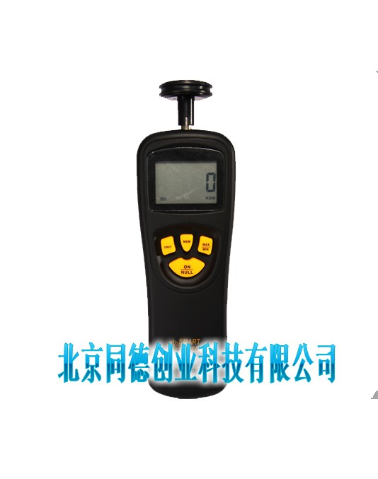 转速表是机械行业必备的仪器之一,用来测定电机的转速、线速度或频率。常用于电机、电扇、造纸、塑料、化纤、洗 衣机、汽车、飞机、轮船等制造业。 大多常用的为手持离心式转速表。转速仪测量在国民经济的各个领域,都是必不可少的。 技术参数 测量范围0.5~19999RPM 0.05~19999.