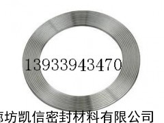 不锈钢齿形垫片,带内、外环(一体型)
