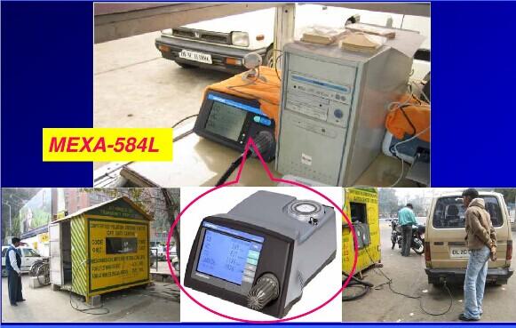 mexa-584l汽车排放废气分析仪