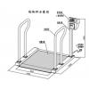英文版出口式透析室轮椅秤,外贸出口透析室轮椅秤