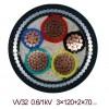 6/10KV MYJV22高压煤矿用电力电缆3*300单价