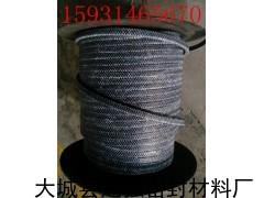 6mm-40mm碳素纤维盘根规格供应,现货提取碳素纤维盘根