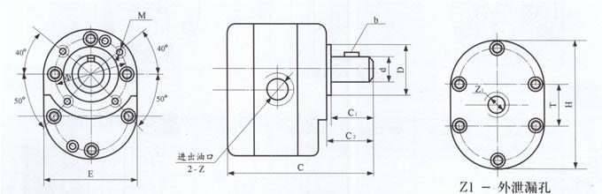 型号m7133磨床 电路图