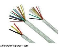 弹性体吊篮线TVR电缆 3*4行车控制电缆