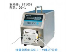 BT系列长沙蠕动泵使用方法
