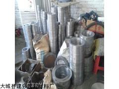 河北供应316材质金属缠绕垫  带内环金属缠绕垫