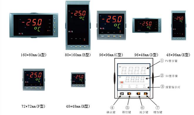 nhr1120系列简易型单回路数字显示控制仪