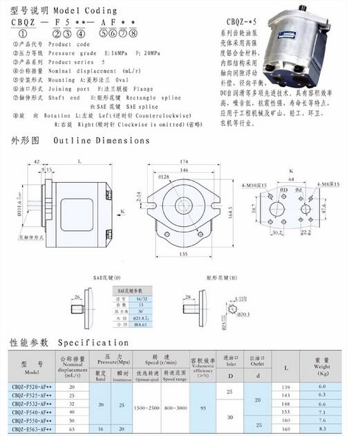 无锡油泵结构图