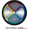 动力铝芯电缆YJLV3*240+1*120外径是多少