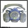 WH/M60-1A 北京硅胶双罐防尘面具