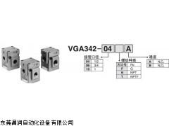 smc三通释放式截流阀,smc气动元件手册图片