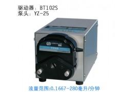 BT102S蠕动泵/恒流泵,雷弗调速型蠕动泵,BT系列恒流泵