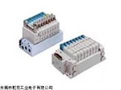 日本产地SMC电磁阀,SMC盒式集装式电磁阀