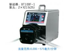 BT100F-1蠕动泵/恒流泵,多通道灌装泵/进样泵/打料泵